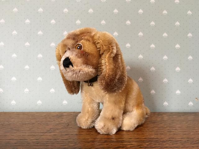 ヴィンテージ 『シュタイフ社』 ピーグル犬 9257
