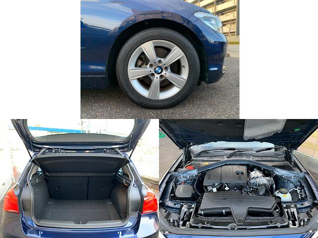BMW 118i スポーツ (A/T) 紺メタ