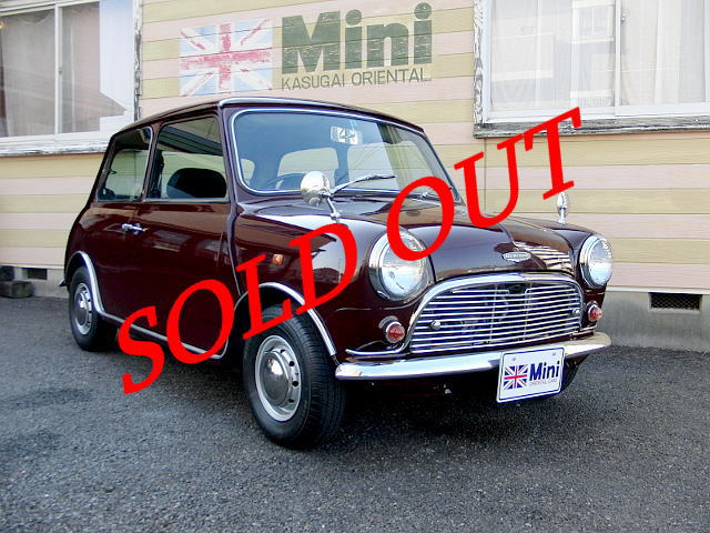 SOLD OUT '93 クーパー 1.3i  (M/T) マルーン