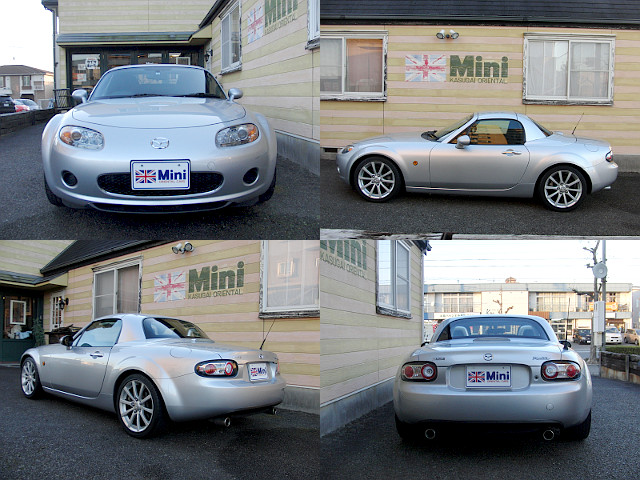 2007年 (H19) ロードスター RS RHT (6速M/T) シルバー