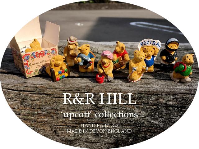『R&R HILL』 Teddy Bearsミニチュア チューダーローズ 愛知県 春日井市 アンティーク家具 輸入 イギリス 雑貨 インテリア プレゼント