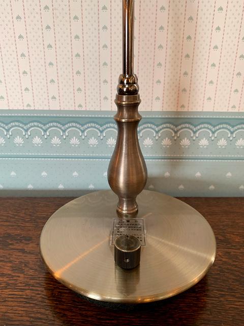 テーブルランプ(真鍮ベース)  FC-570A/878