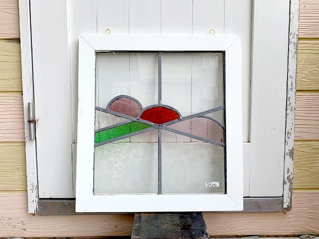 アンティーク ステンドグラス st-20026