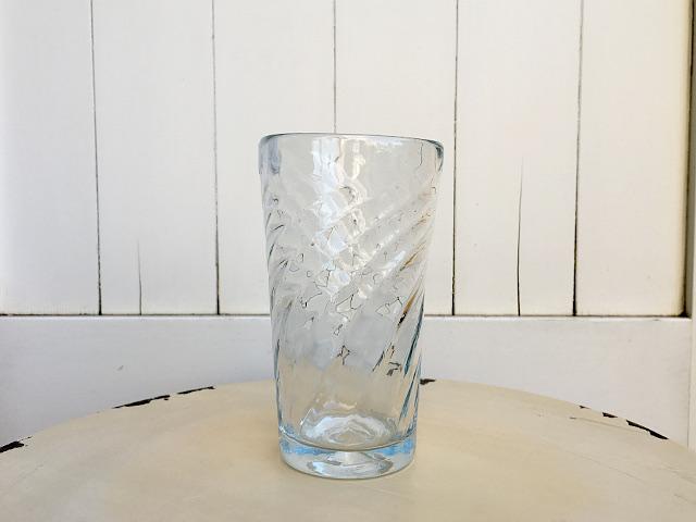 P-13 Persian手吹きガラス(ロンググラス) 約φ7.8×H14cm