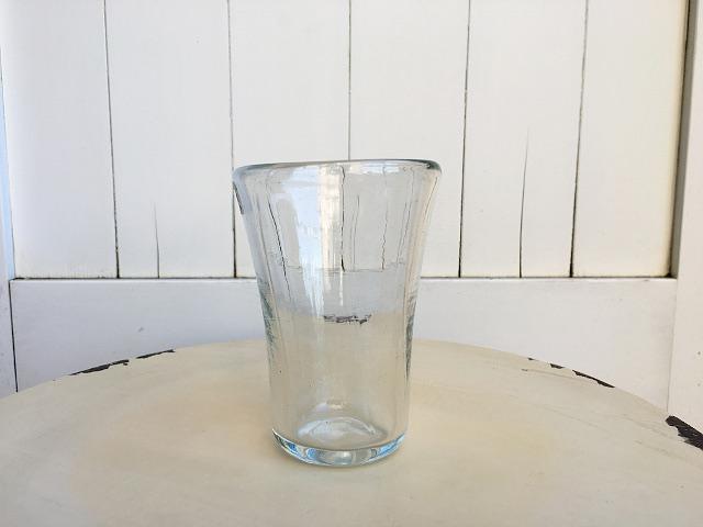 P-16 Persian手吹きガラス(一口ビールグラス) 約φ8×H11cm