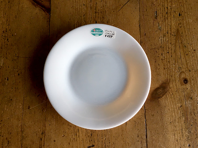T-12 GLASS DINNER PLATE (径17.5)