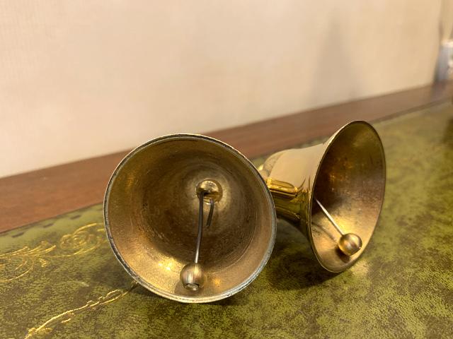真鍮 チューリップベル(ダブル) br96