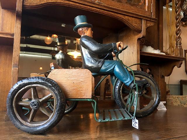 ヴィンテージ 三輪車紳士 8130