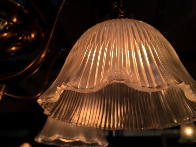 真鍮製5灯シャンデリア 13044・26047