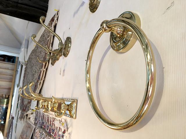 真鍮 タオルリング br22