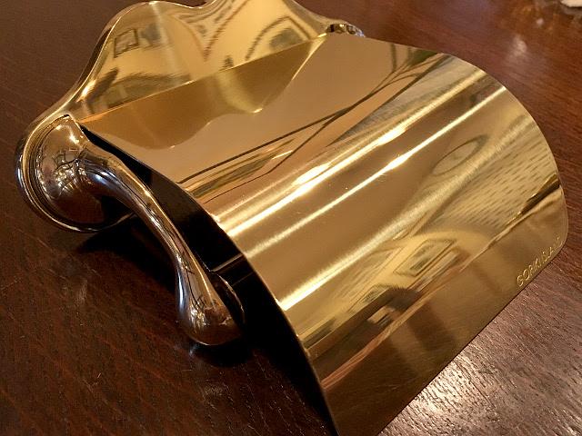 真鍮 トイレットペーパーホルダー br20