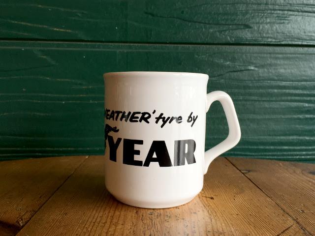 """GOOD YEAR"" マグカップ(TAMS製) A1730"