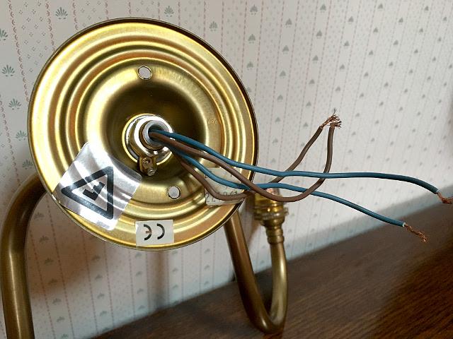 『CHRISTOPHER WRAY』 真鍮製 二灯ウォールブラケット 9417