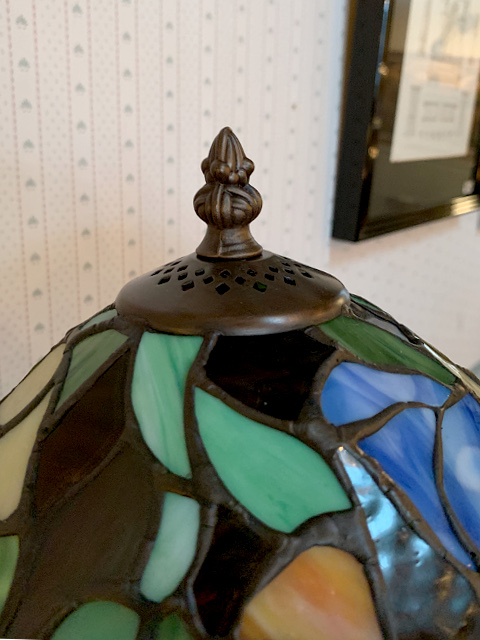 ステンドグラス テーブルランプ<グリュック> 689221