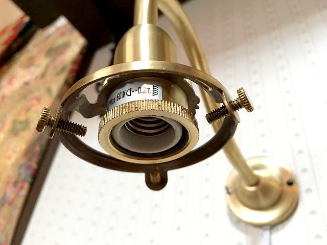 真鍮製 ウォールブラケット