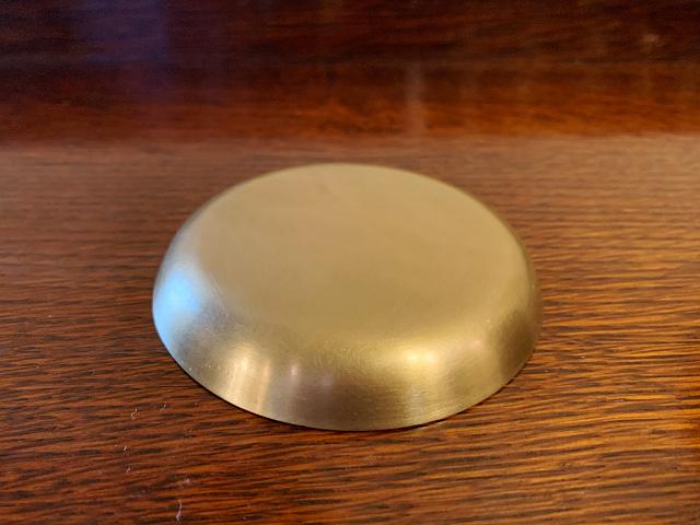 真鍮 プレート(ラウンドSS) br101
