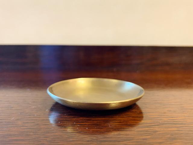 真鍮 プレート(ラウンドSSS) br102
