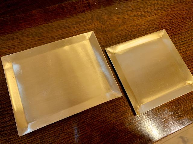 真鍮 プレート(正方形) br104