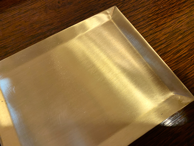 真鍮 プレート(長方形) br103