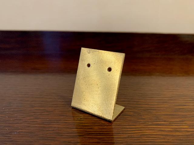 真鍮 ピアスホルダー br106