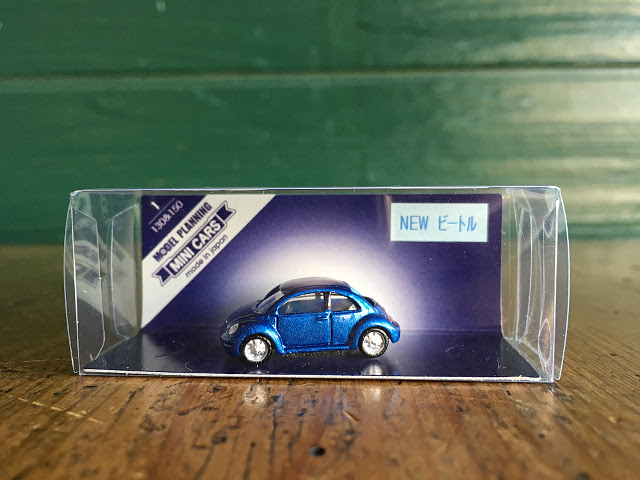 『MODEL PLANNING』 MINI CARS NEW ビートル(ブルー) A1740