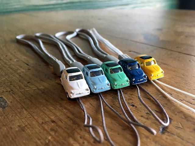 『MODEL PLANNING』 MINI CARS ストラップ フィアット500 A1744