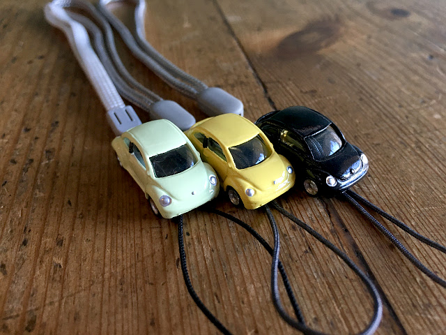 『MODEL PLANNING』 MINI CARS ストラップ NEW ビートル A1746