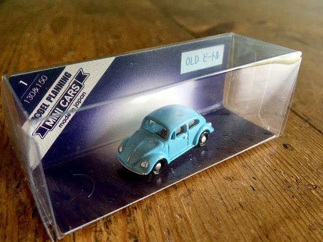 『MODEL PLANNING』 MINI CARS OLD ビートル(ライトブルー) A1739