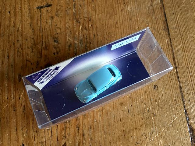 『MODEL PLANNING』 MINI CARS OLD ビートル(ライトブルー) A1739