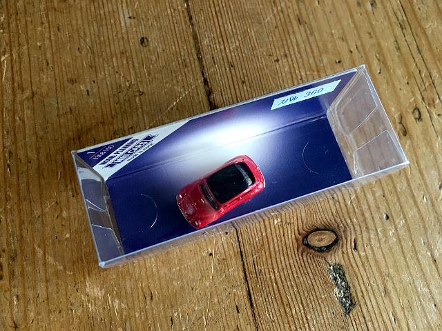 『MODEL PLANNING』 MINI CARS スバル360(レッド) A1743