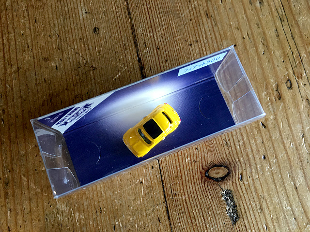 『MODEL PLANNING』 MINI CARS フィアット500(イエロー) A1741