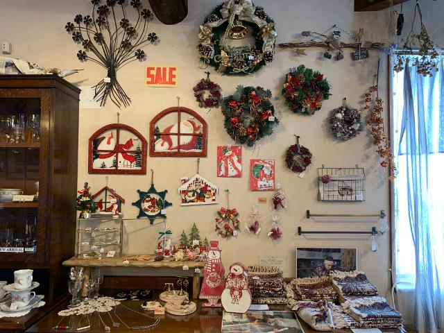 愛知県 春日井市 高蔵寺 チューダーローズ 雑貨 雑貨屋 インテリア 家具屋 セール 名古屋 クリスマス雑貨 クリスマスプレゼント