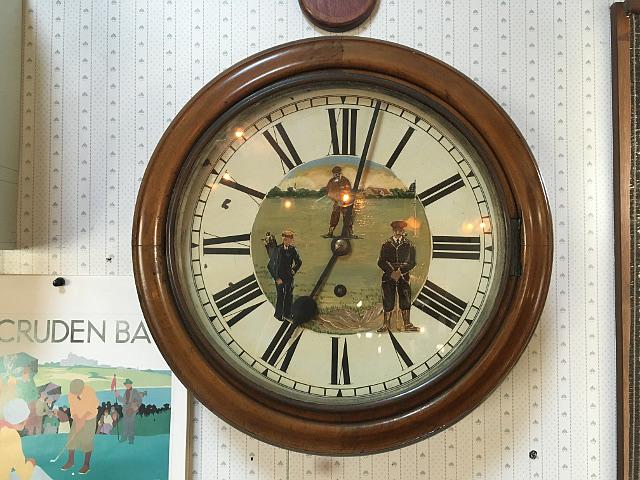 アンティーク掛時計 『JUNGHANS社』 GOLF HANG CLOCK 8184