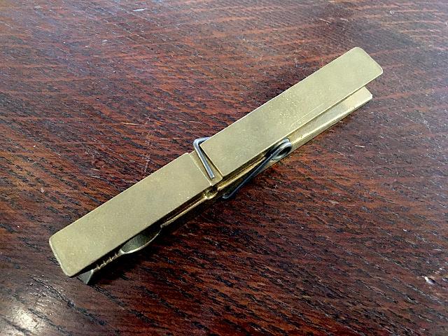ヴィンテージ 真鍮 クリップ (9061) br59