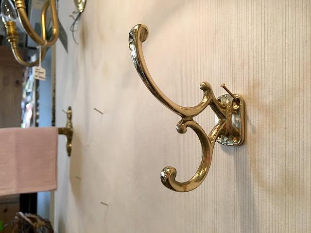 真鍮 コートフック (CL) br63