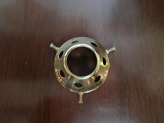 真鍮製 ギャラリー(3点留め) Li73