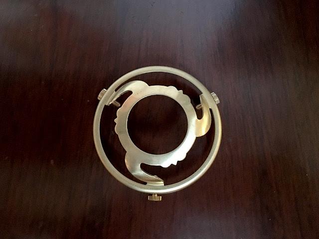 真鍮製 ギャラリー(3点留め) Li72