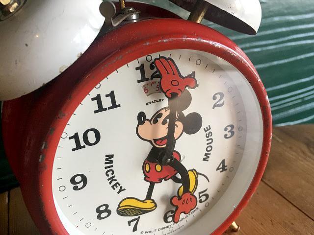 ヴィンテージ MICKEY CLOCK アラームクロック 9180