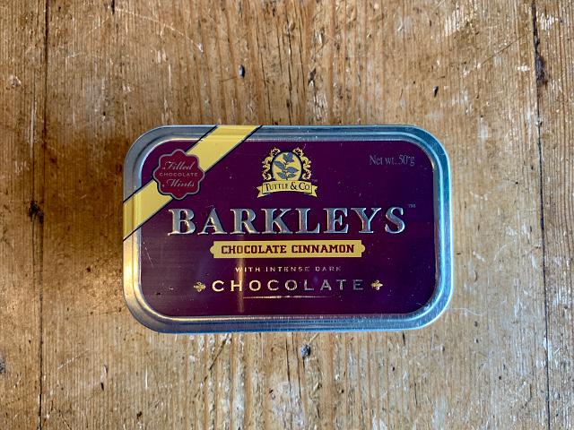 "iF-37 『Tuttle&Company』""Barkleys""チョコレート(シナモン) 50g"