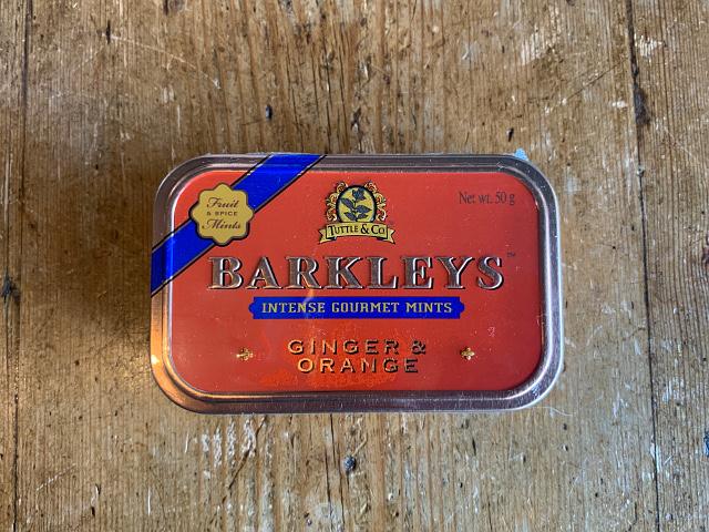 "iF-39 『Tuttle&Company』""Barkleys""グルメタブレット(ジンジャー&オレンジ味) 50g"
