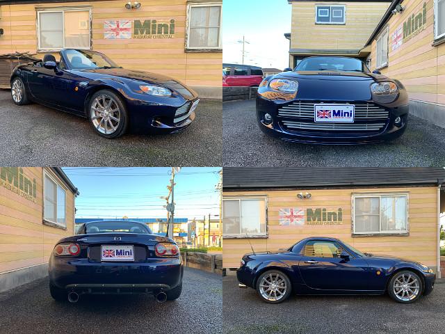2007年(H19)ロードスター RS RHT (6MT) 紺メタ