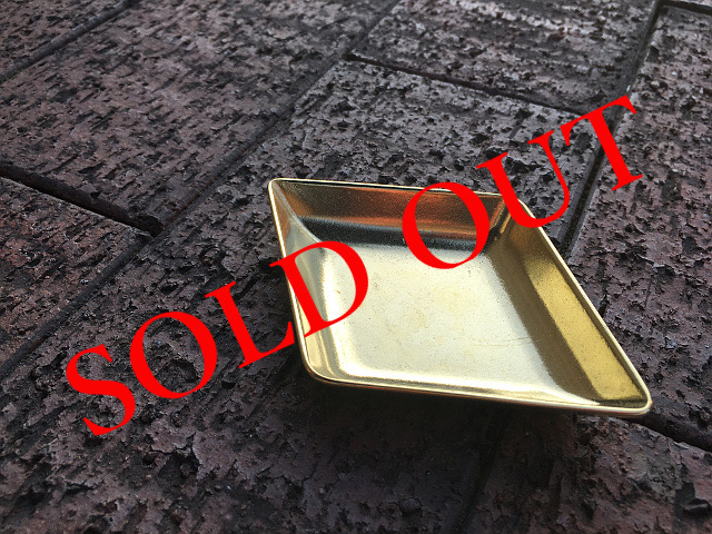 SOLD OUT 真鍮 トレー(Diamond) br28