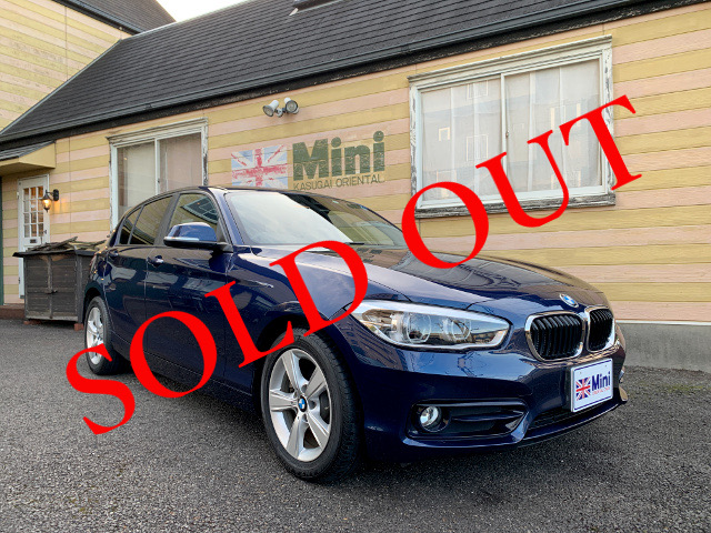 SOLD OUT BMW 118i スポーツ (A/T) 紺メタ