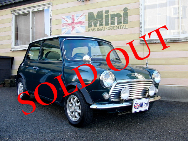 SOLD OUT '96 クーパー 1.3i  (M/T) British Racing Green