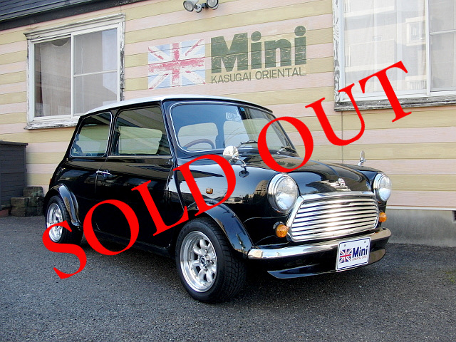 SOLD OUT '92 クーパー 1.3i  (M/T) 白・黒