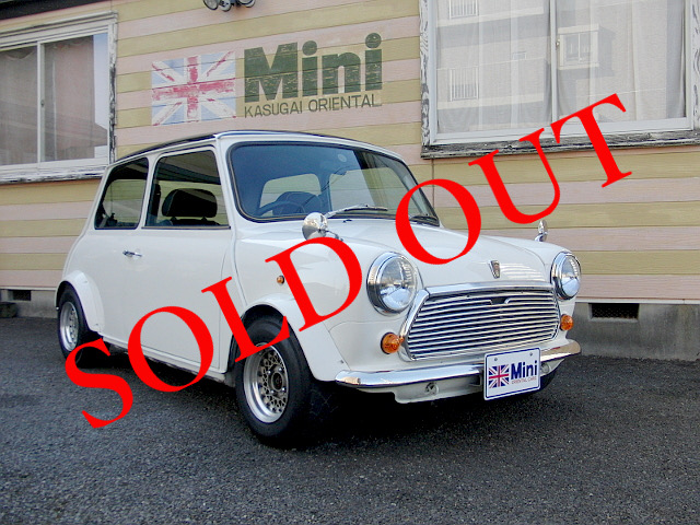 SOLD OUT '96 クーパー 1.3i  (M/T) 白・黒