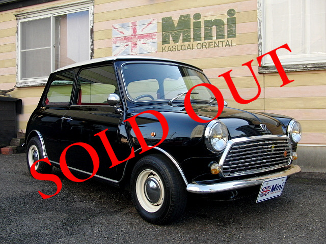 SOLD OUT '95 クーパー 1.3i  (MT) モンテカルロ限定車