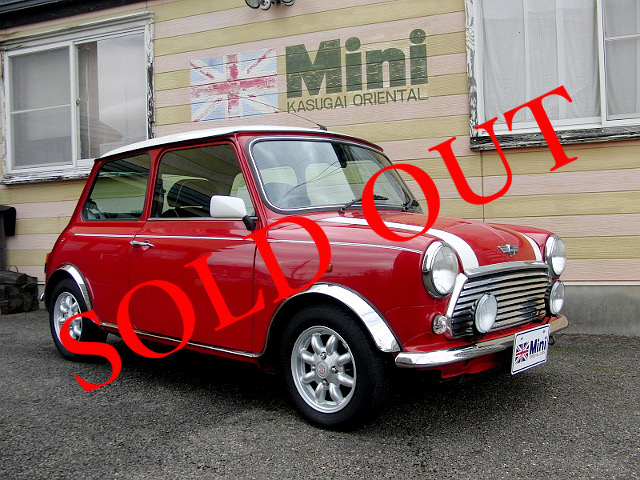SOLD OUT '00 クーパー 1.3i  (M/T) 白・赤