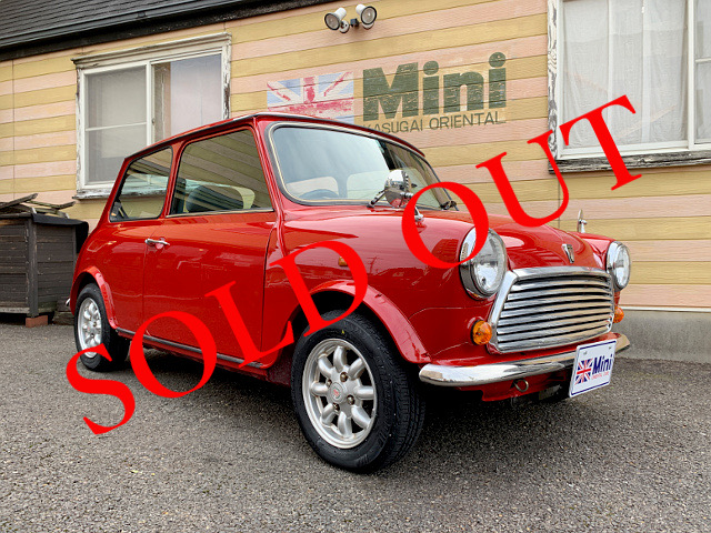 SOLD OUT '96  メイフェア 1.3i (A/T) 赤