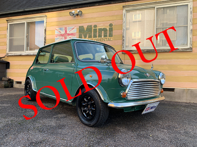 SOLD OUT '96 クーパー 1.3i  (M/T) アーモンドグリーン 35th限定車